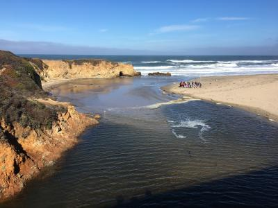 Mouth of Pescadero Creek